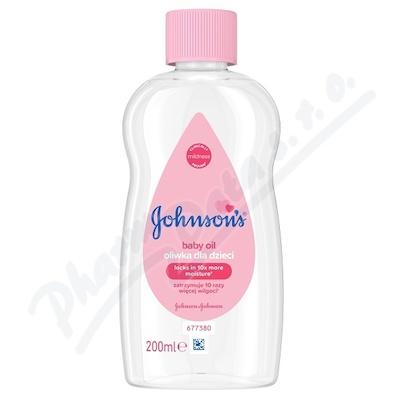 JOHNSONS dětský olej 200 ml