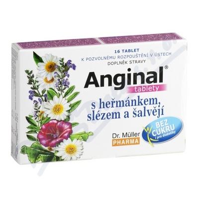 DR.MULLER Anginal tbl.heřm.+sléz tbl.16