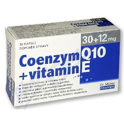 DR.MULLER Coenzym Q10 30mg+v.E 12mg30cps