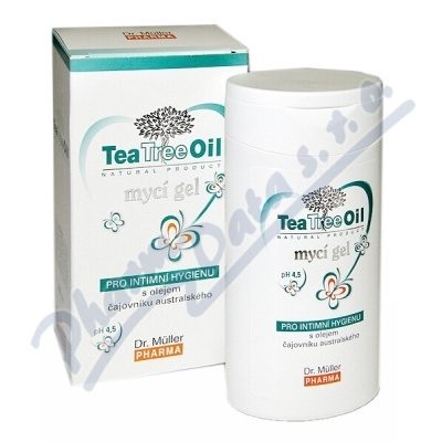DR.MULLER Tea Tree Oil mycí g.i.h.200ml