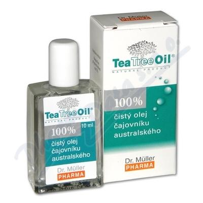 DR.MULLER Tea Tree Oil 100%čis.ol.10mlCZ