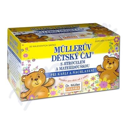 DR.MULLER Dětský čaj jitro+mateř.20x1,5g