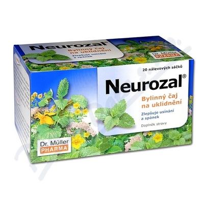 DR.MULLER Neurozal byl.čaj 20 nálev.sáč.