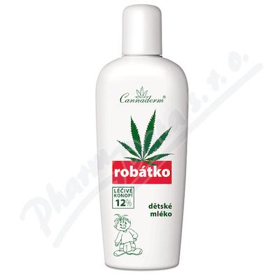 Cannaderm Robatko ošetřující mléko 150ml