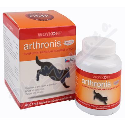 Arthronis ACUTE CANIS 60tbl. sýr.př.Woyf