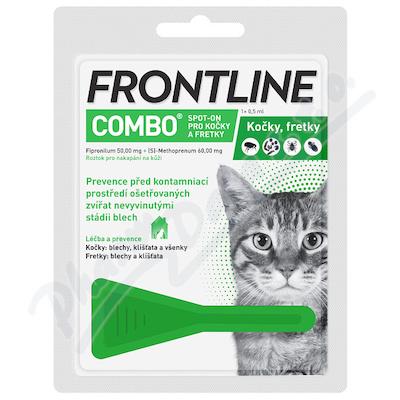 Frontline Combo Spot-on Cat sol.0.5ml1x1