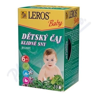 LEROS BABY Dět.č.Klidné sny n.s.20x1,5g