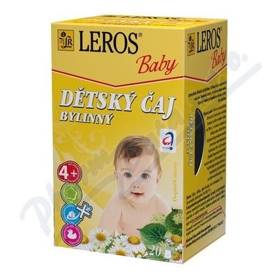 LEROS BABY Dětský čaj bylin.n.s.20x1.8g
