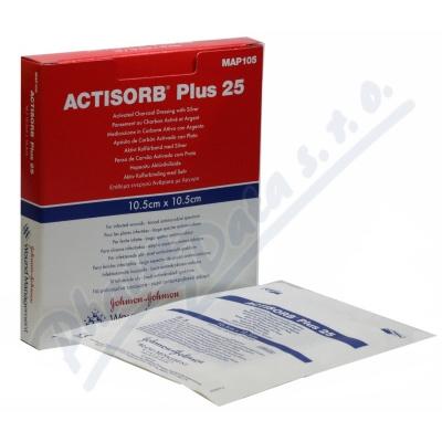 Actisorb Plus 10.5x10.5cm 5ksMAP105_1/10