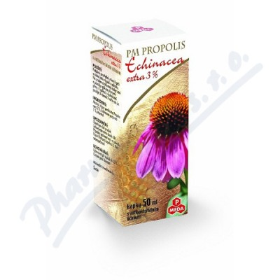 PM Propolis Echinacea extra3% kapky 50ml