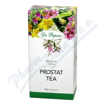 DR.POPOV Čaj Prostat tea 50g MEKKA