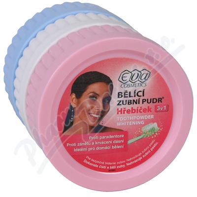 EVA bělící zub.pudr Mix Menth+Hreb+Fluor