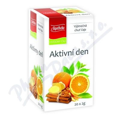 Čaj Aktivní den 20x2g n.s.APOTHEKE