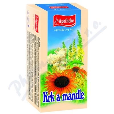 Čaj Krk a mandle 20x1.5g APOTHEKE