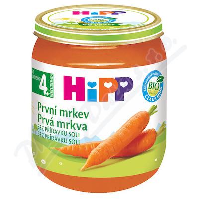 HiPP Zel.První mrkev 125g CZ4010-01