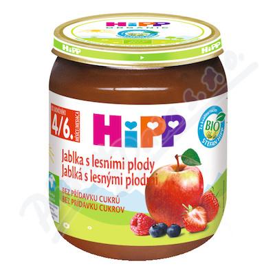 HiPP Ov.Bio Jablka+les.plody125g CZ4203