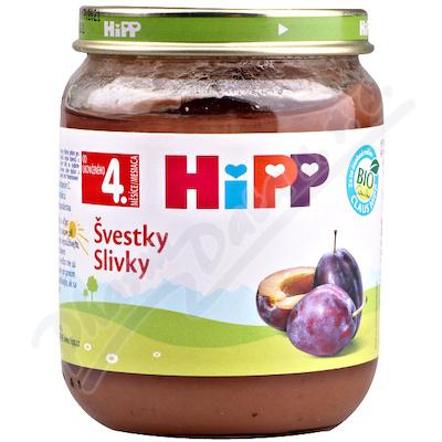 HiPP Ovoce Bio Švestky 125g CZ4253