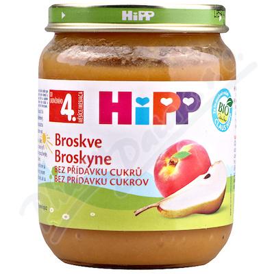 HiPP Ovoce Bio Broskve 125g CZ4202-01