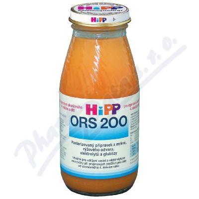 HiPP ORS Mrkev-rýže200ml CZ2300