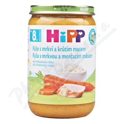 HiPP JM rýže,karot.,kr.maso220gCZ6530-01