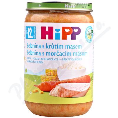 HiPP DM zel.s krůtím masem 220g CZ6813