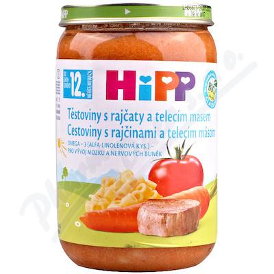 HiPP DM rajč.s těst.+tel.maso220g CZ6833