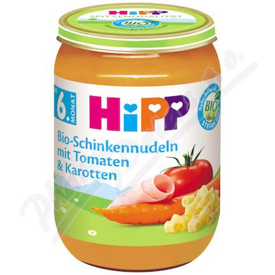 HiPP BM zelenina,šunka,těst.190g CZ6210