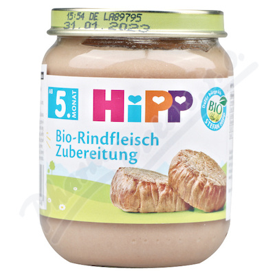 HIPP BIO maso hovězí 125g 6010