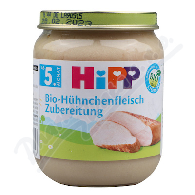 HIPP BIO maso kuřecí 125g 6020-01